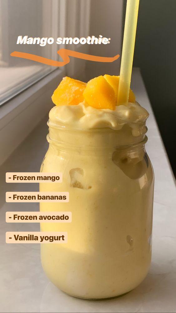 Mango Smoothie delicious