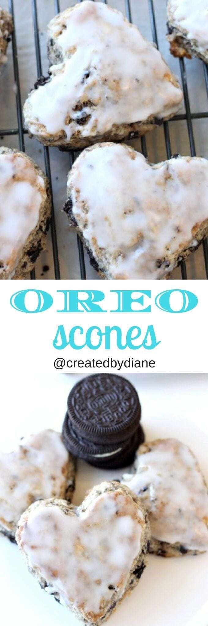 Oreo Scones