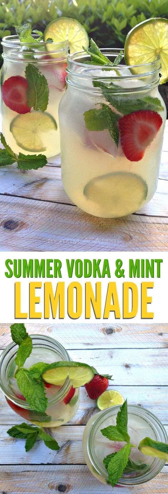 3. Summer Vodka & Mint Lemonade