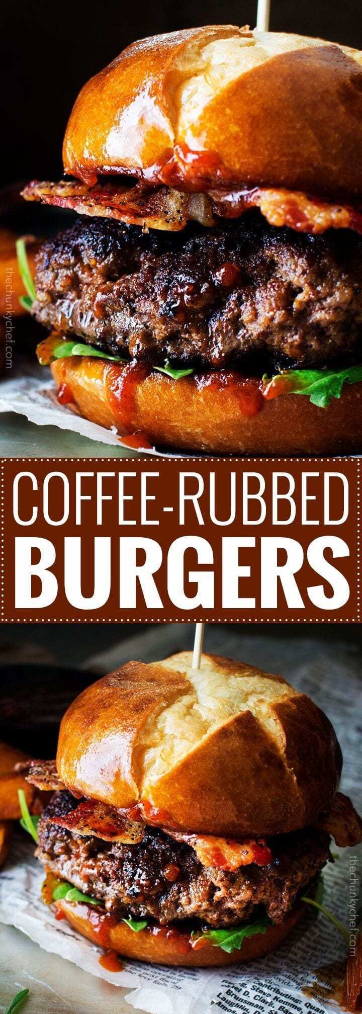 Coffee-Rubbed Burgers