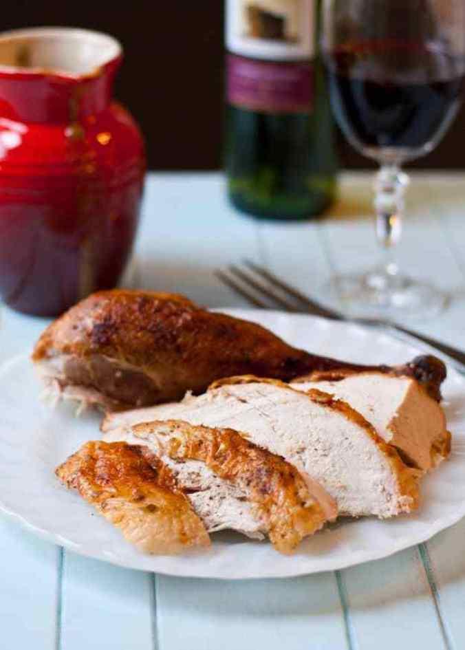 Easy Garlic & Herb Roasted Turkey