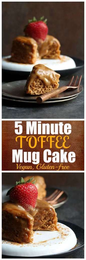 Minute Toffee Mug Cake Recipe recipe