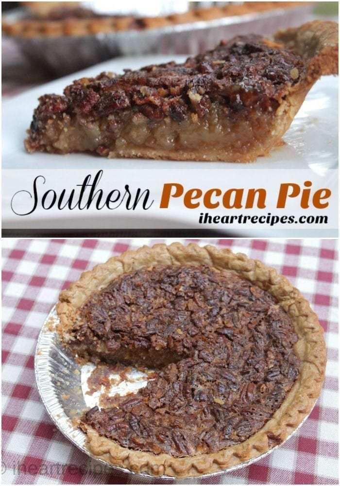 Southern Pecan Pie recipe