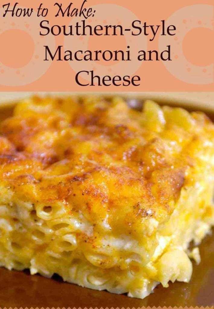 Southern-Style Macaroni & Cheese recipe
