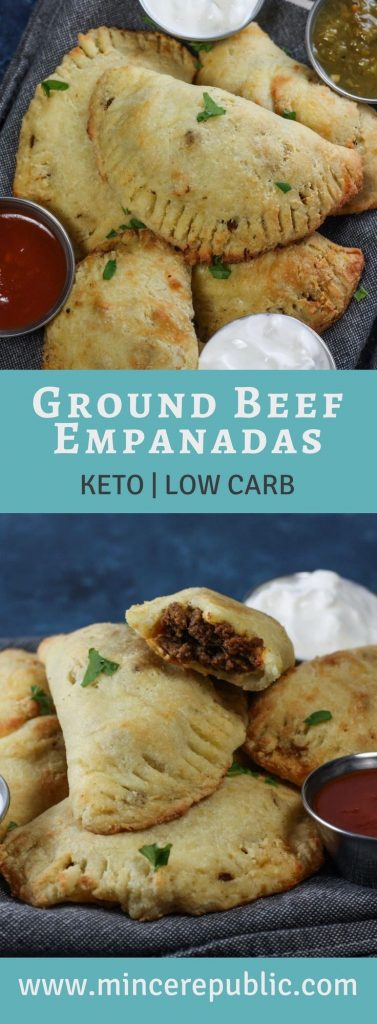 Keto Ground Beef Empanadas