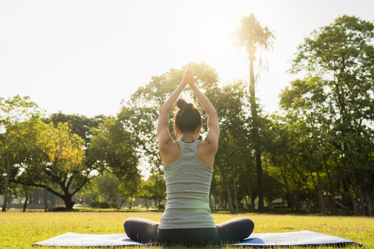 YOGA to fight with the stree