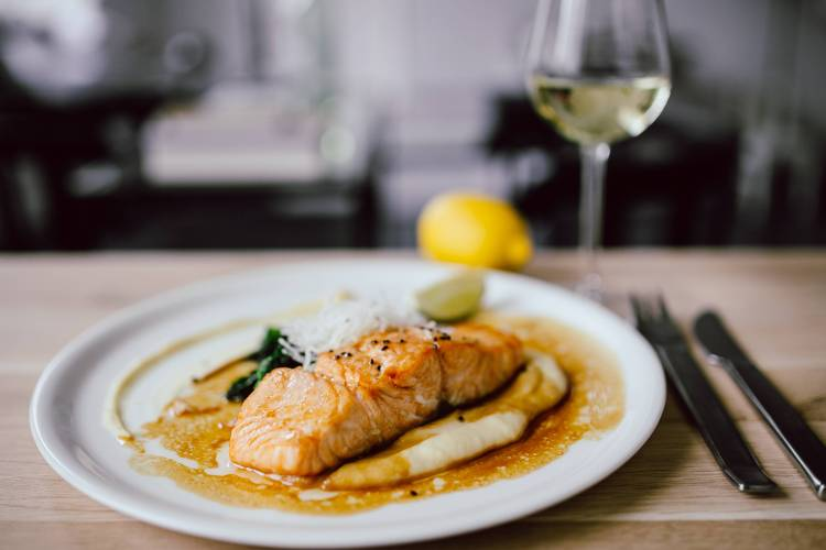 Salmon help you with the stress