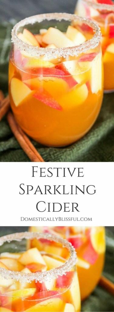 Festive Sparkling Cider