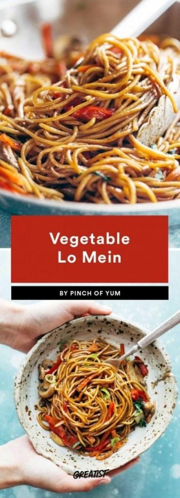 15-Minute Vegetarian Lo Mein