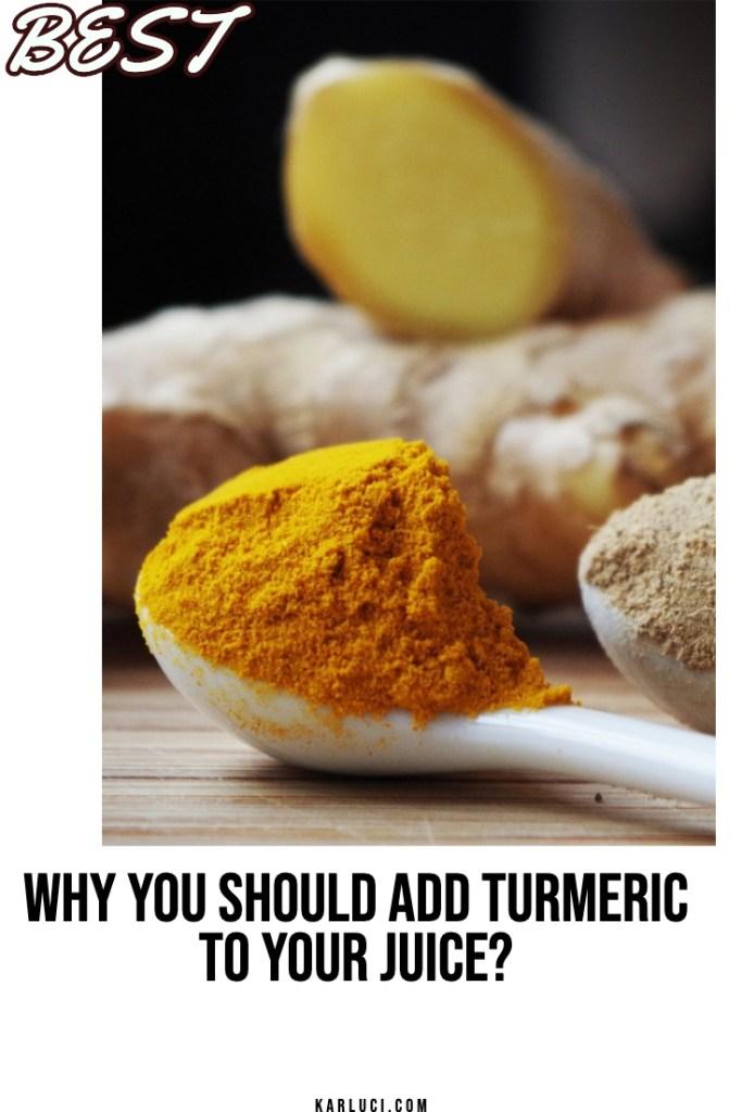 why should add turmeric
