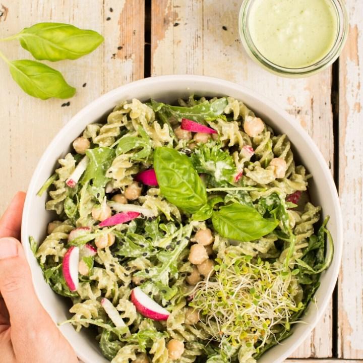 Vegan Basil Cashew Pesto