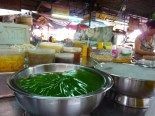 At the market in Vinh Long.... lots of mystery desserts that incorporate gelatin or agar or some kind.
