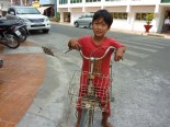 The cool kids in Vietnam ride bikes.