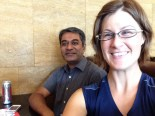 Last lunch with Vijay P.... hoping he comes to MN soon for a reunion!