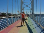 We walked on a rainbow!!!