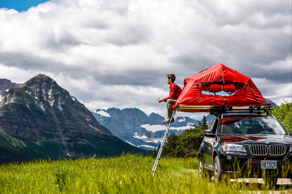 Автомобильные палатки