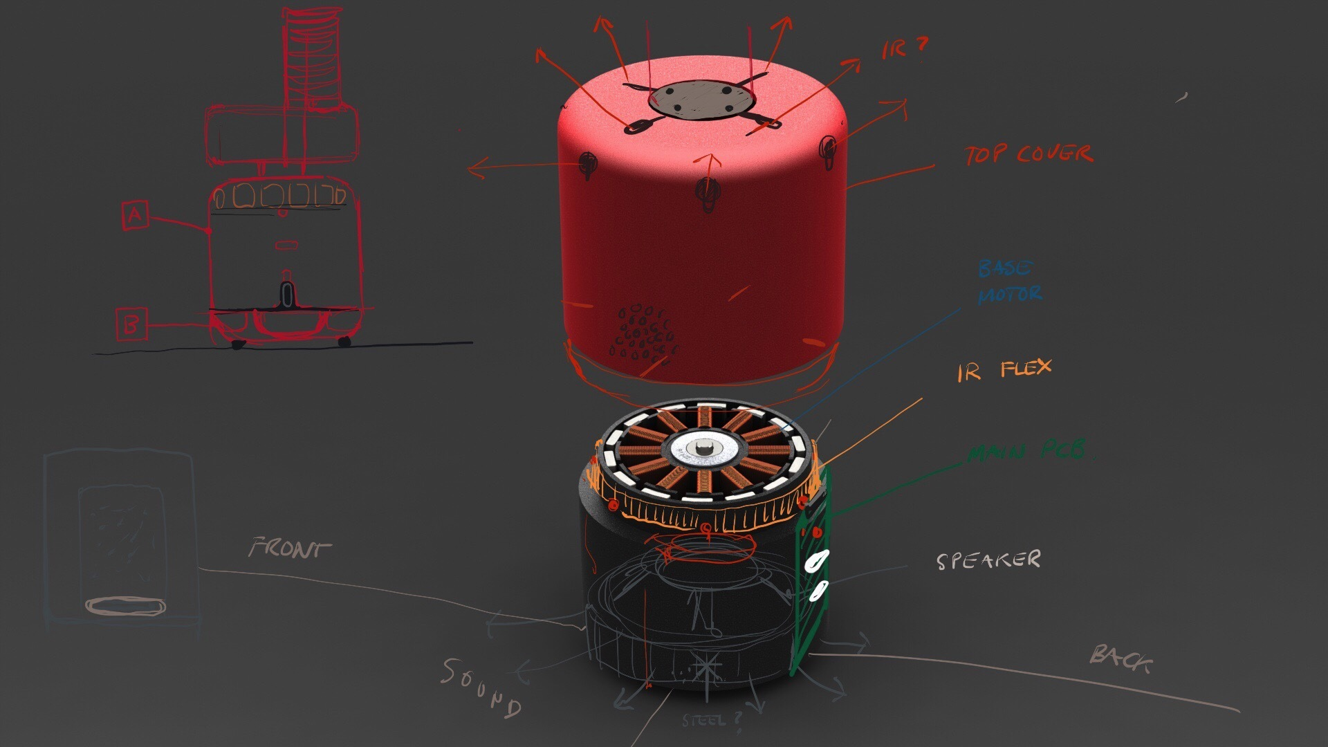 Робот компаньон от Teenage Engineering