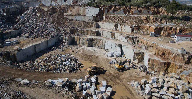 kar maden marble quarry