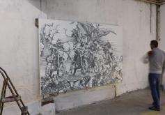 Baptiste Debombourg - Aggravure