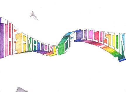 Karmaela typography The Anatomy Of Illusion