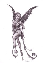Karmaela Design: Fairy tattoo design