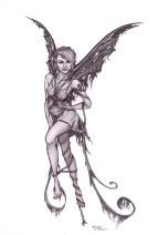 Karmaela Design: Fairy tattoo design