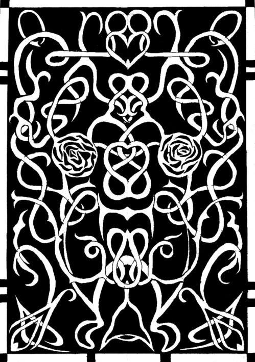 Karmaela Rosevine Pattern