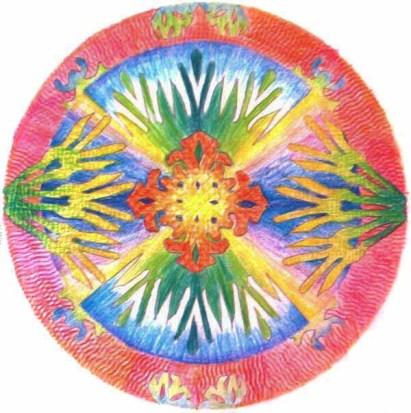 Karmaela Plate Illustration