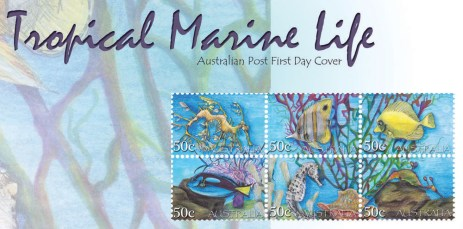 Karmaela Tropical Stamps - First Day Cover