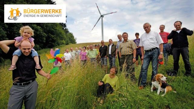 Bürgerwindrad der Bürgerwerke, Copyright: Bürgerwerke eG
