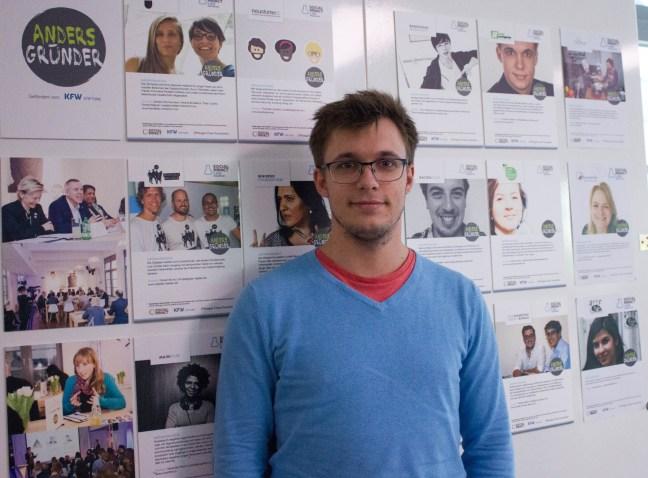 Ein Foto von Christian Deiters im Social Impact Lab