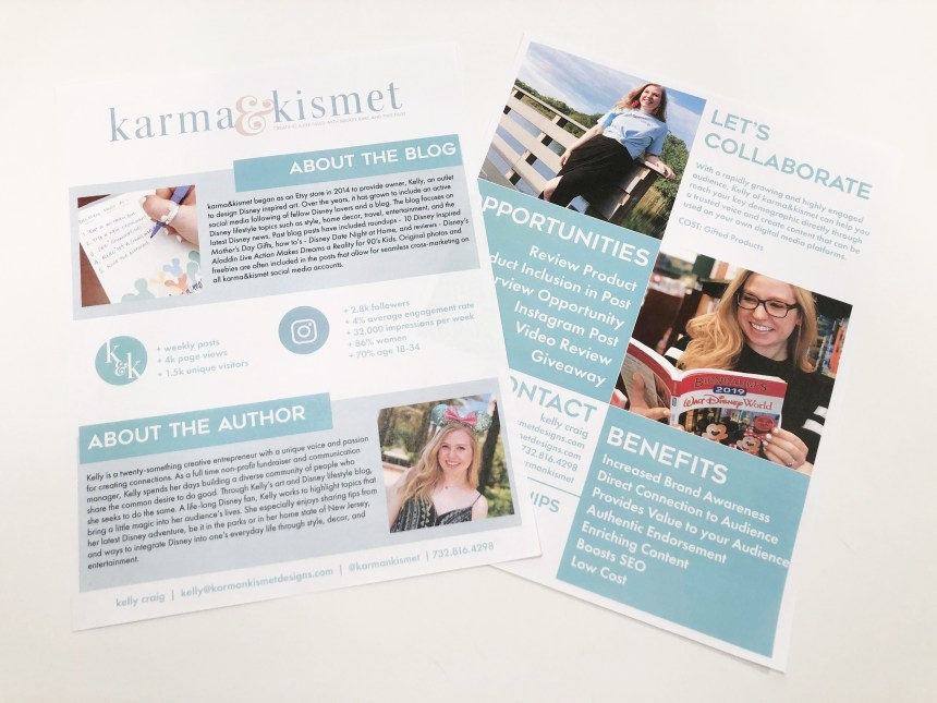 karma&kismet provides Influencers with a one-of-a-kind media kit to collaborate with companies and gain exposure.