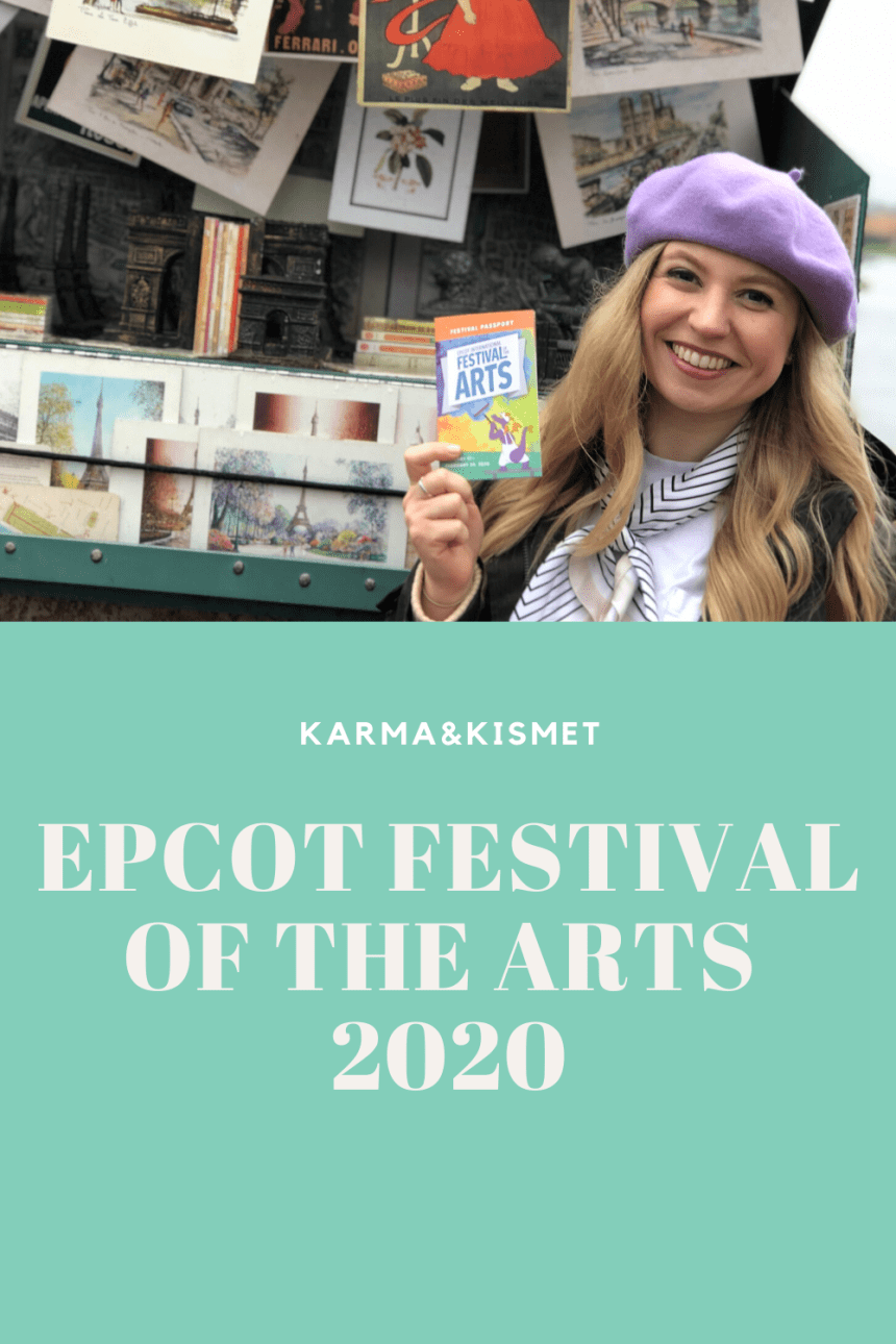 Epcot Festival of the Arts Guide and vlog 2020