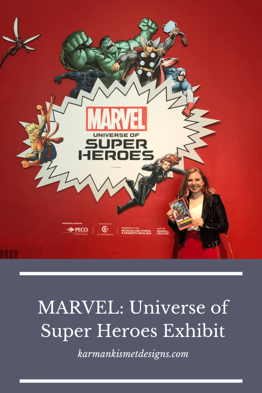 Marvel Universe of Super Heroes Exhibit