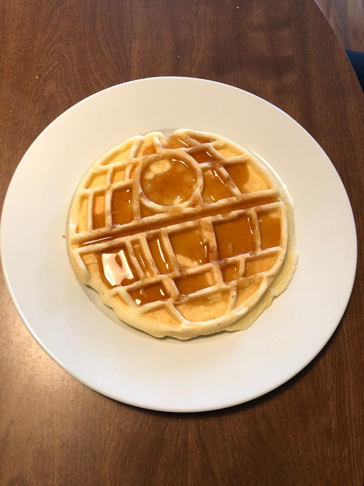 Death Star Waffles