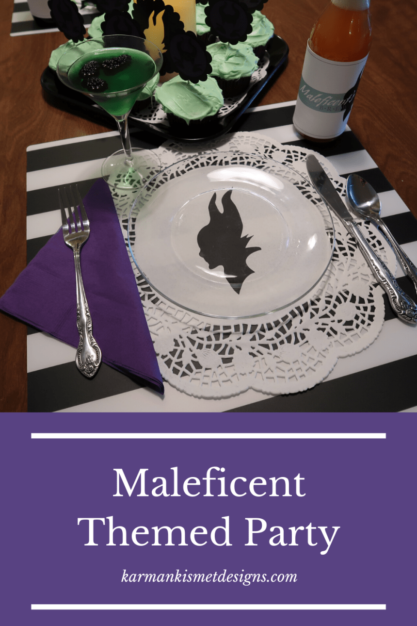 Maleficent Themed Party