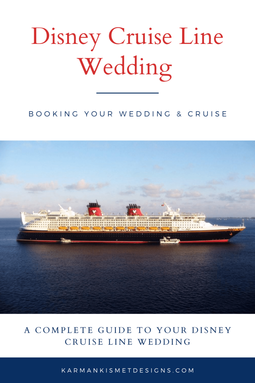 Disney Cruise Line Wedding Guide
