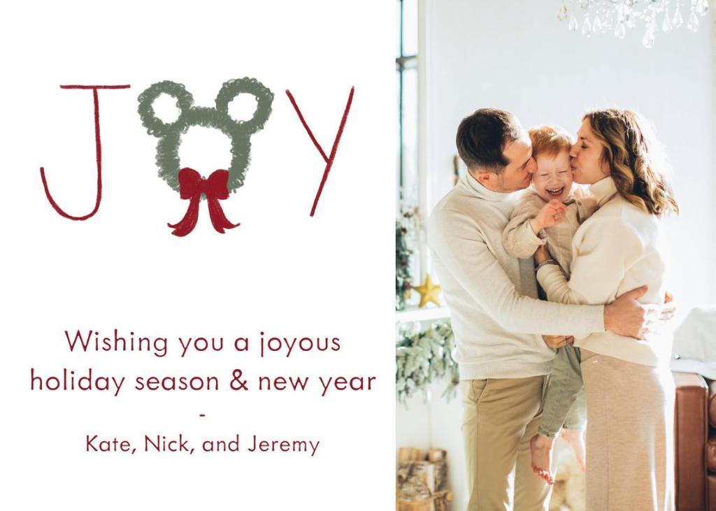 Digital Disney Christmas Cards