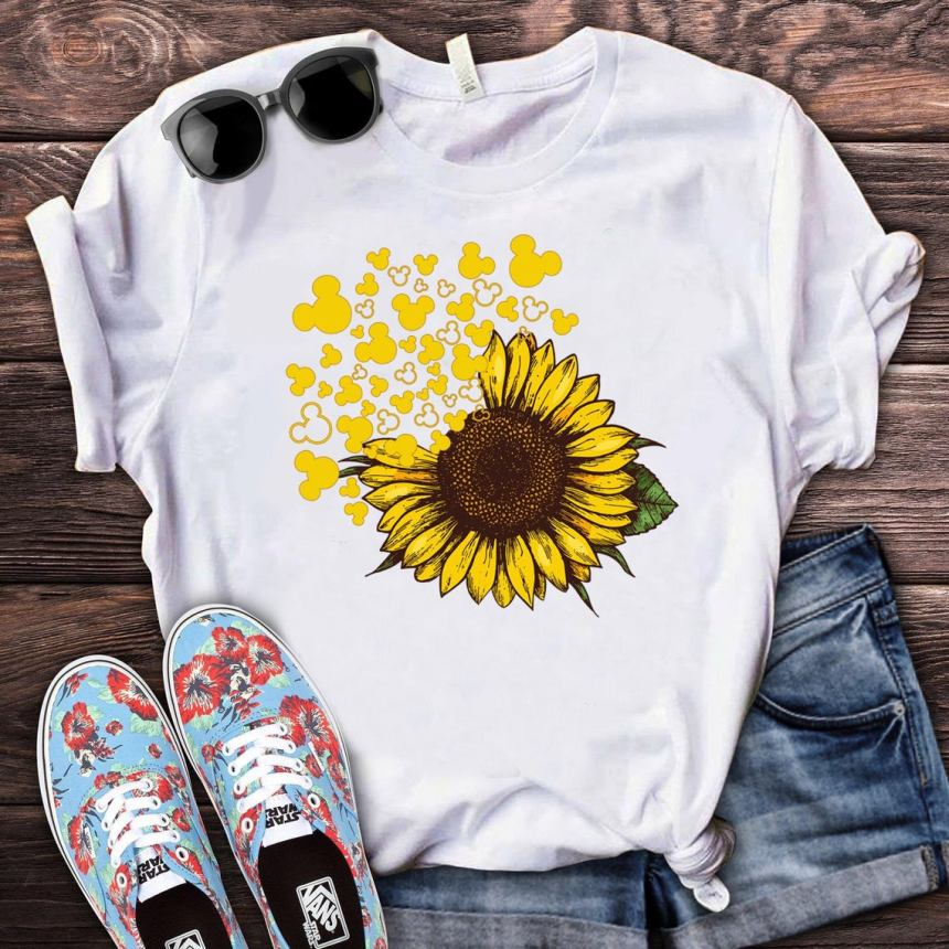 Mickey Mouse Wildflower shirt