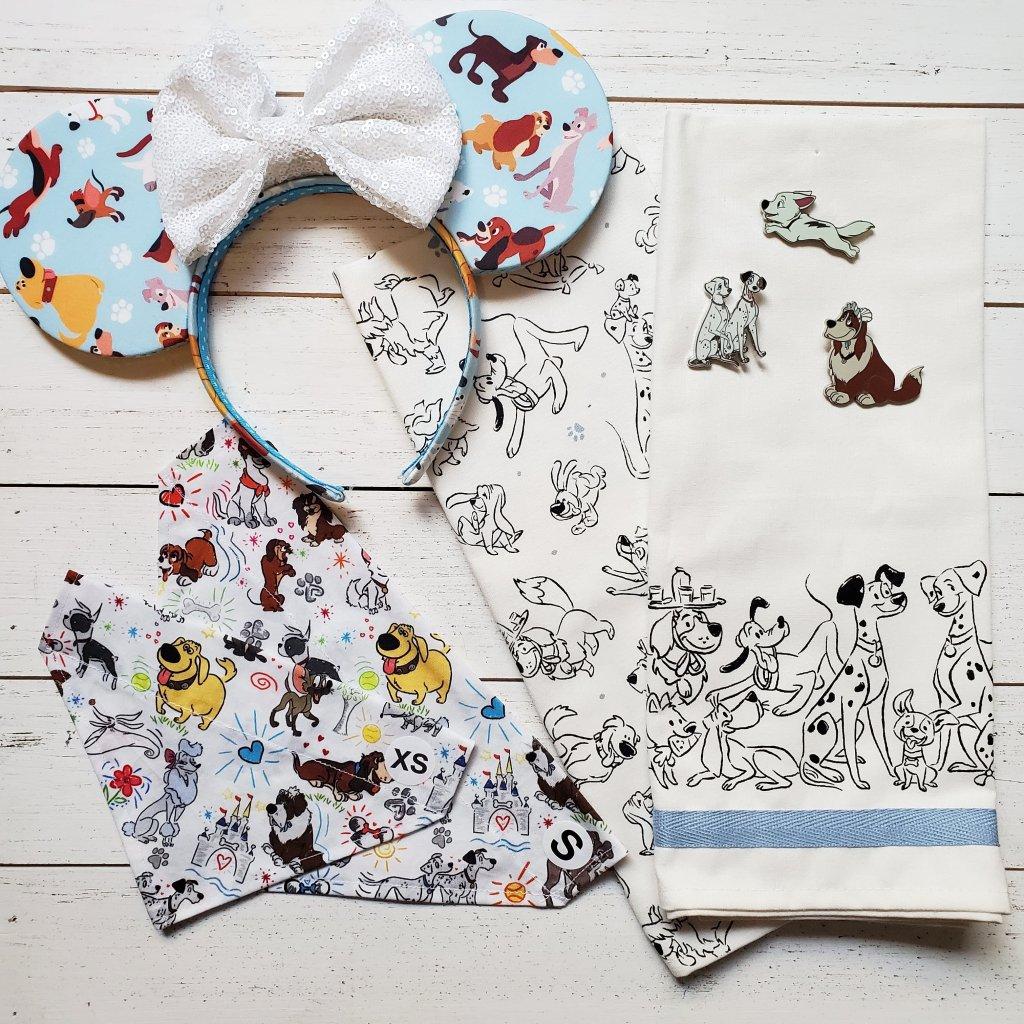 Disney dog bandana