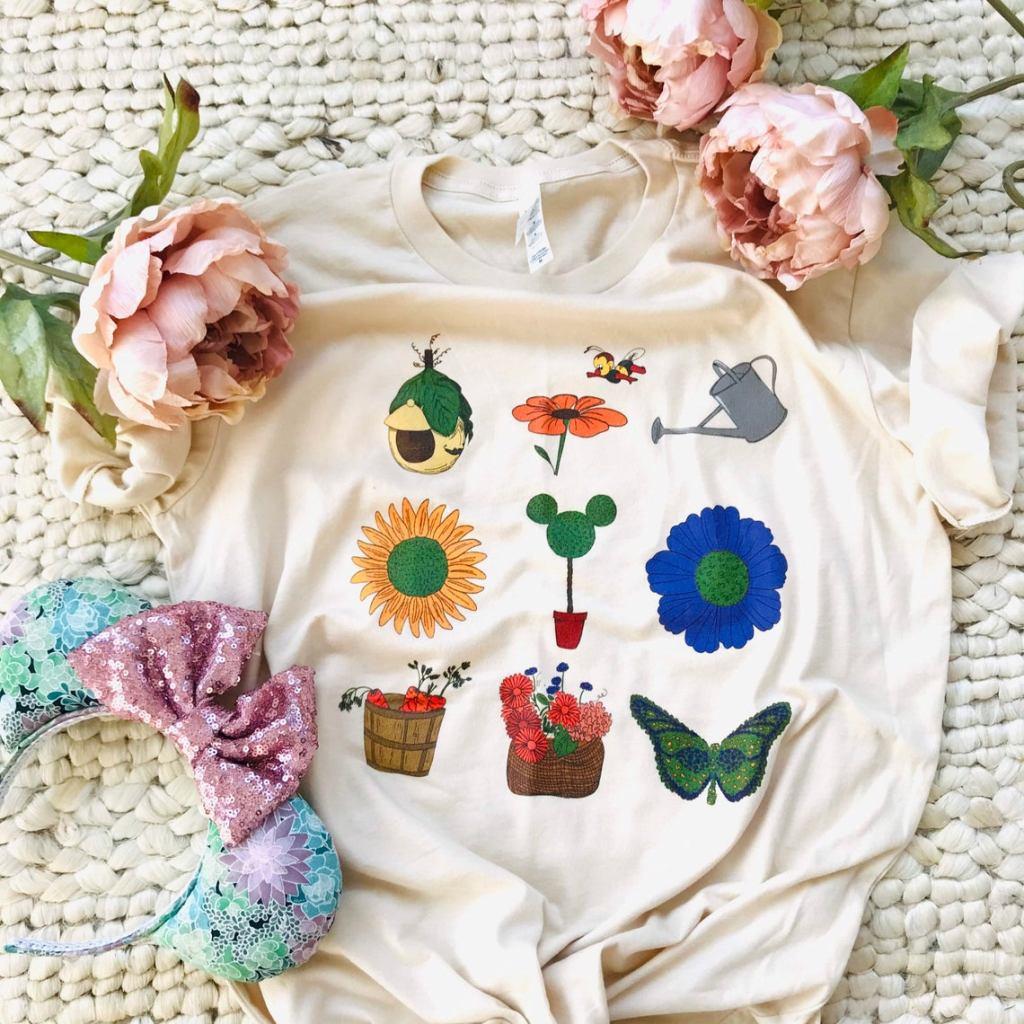 Epcot Flower and Garden Festival Shirt