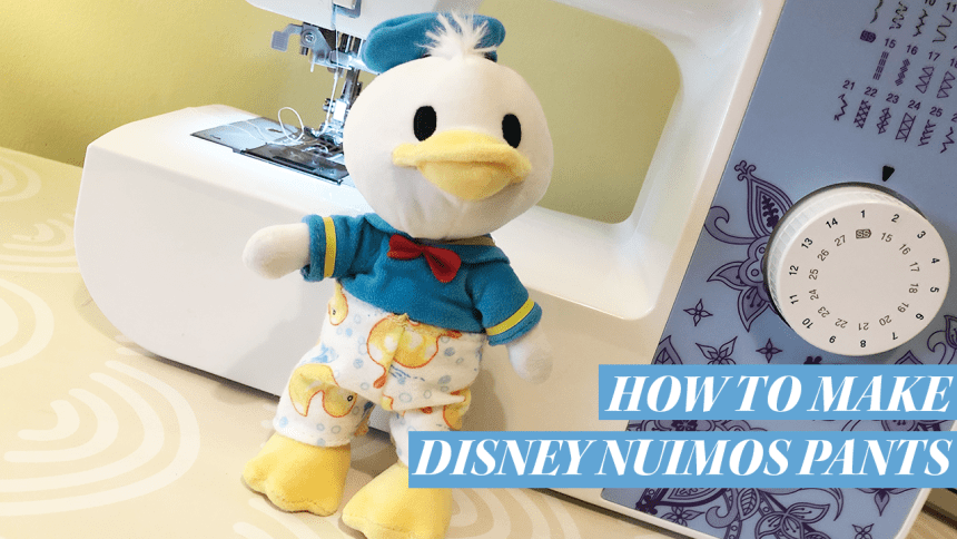 How to make Disney nuiMOs clothing