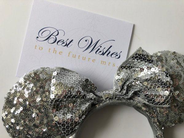 Disney Bridal Shower Card