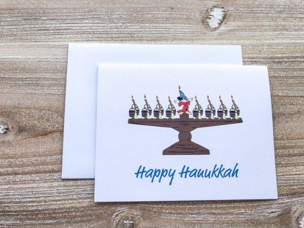 Disney Hanukkah Card