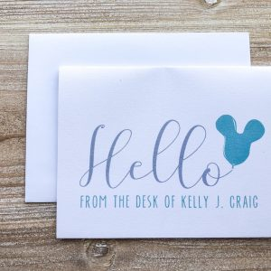 Personalized Disney Greeting Card
