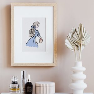 belle beauty and the beast art