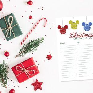 disney christmas shopping list