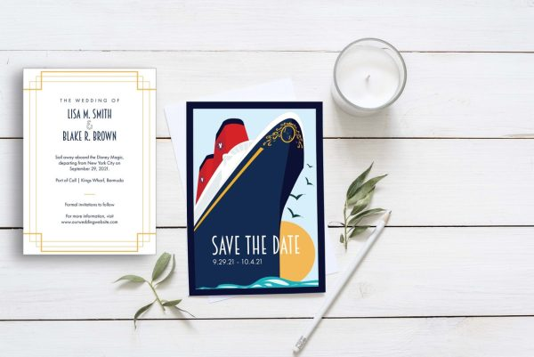 Disney Cruise Line Save the Date