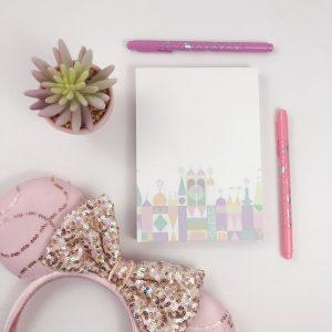 small world notepad