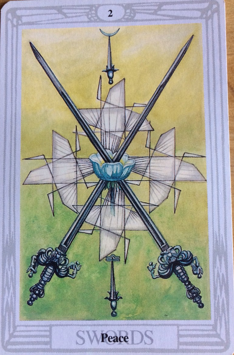 Thoth - 2 of Swords
